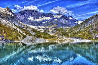 Photograph - John Hopkins Glacier Hdr by Richard J Cassato