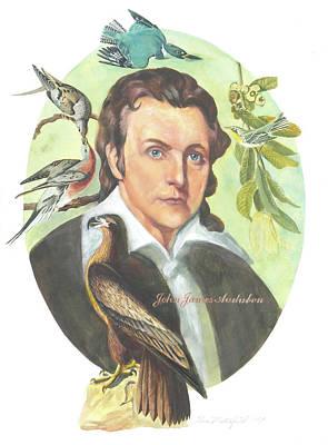 John James Audubon Art Print by Kean Butterfield