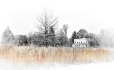 Photograph - John Jay House At Christmas by Diana Angstadt
