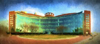 Painting - John Joseph Moakley United States Courthouse by Thomas Logan