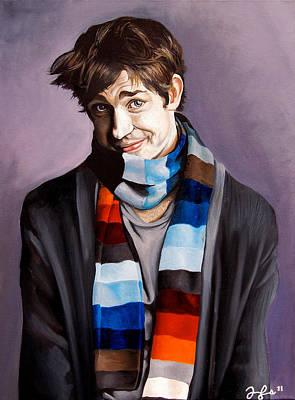 John Krasinski Art Print by Emily Jones