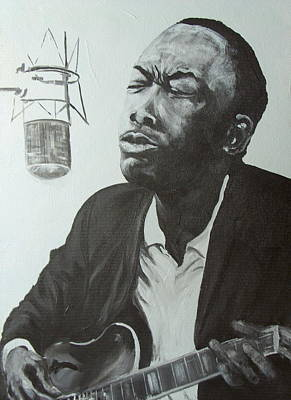 John Lee Hooker Original by Pete Maier