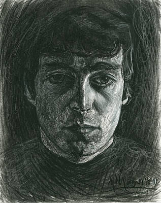 Mccartney Drawing - John Lennon 1 by Michael Morgan