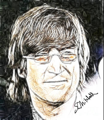 Digital Art - John Lennon 66 by Stephen L Mitchell