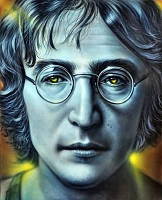 Photograph - John Lennon by Andrea Kollo
