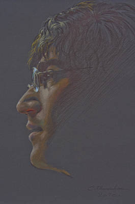 Painting - John Lennon by Chonkhet Phanwichien