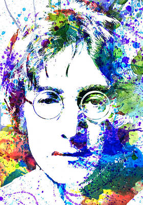 Celebrities Painting - John Lennon by Dante Blacksmith