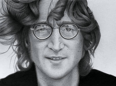 John Lennon Art Print by David Powers