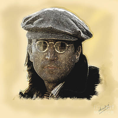 Digital Art - John Lennon by Debora Cardaci