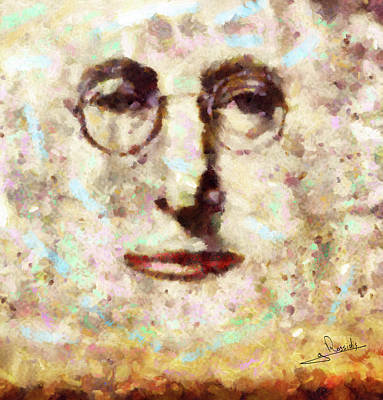 Dance Painting - John Lennon by George Rossidis