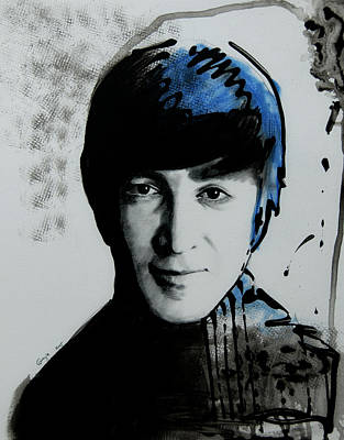 John Lennon Art Drawings Drawing - John Lennon by Gracja Waniewska