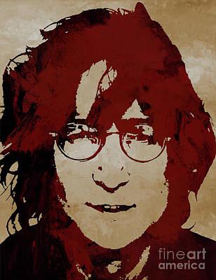 Painting - John Lennon by Gull G