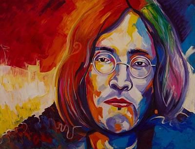Gustavo Oliveira Painting - John Lennon by Gustavo Oliveira