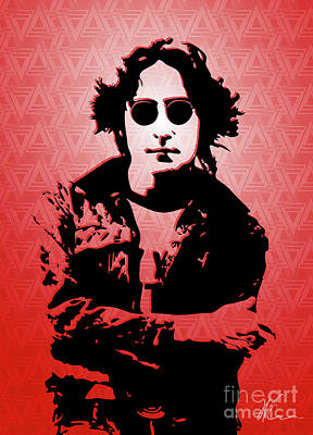 Lennon Digital Art - John Lennon - Imagine - Pop Art by William Cuccio aka WCSmack