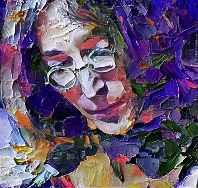 Digital Art - John Lennon In 3d Paint by Yury Malkov