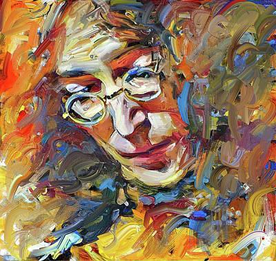 Digital Art - John Lennon In Colors by Yury Malkov