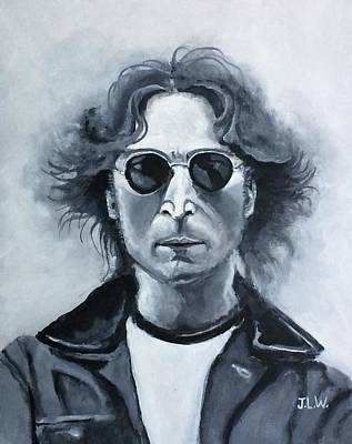 Painting - John Lennon by Justin Lee Williams