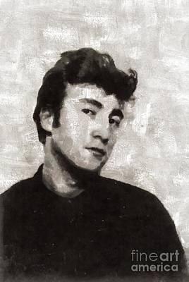 Lennon Painting - John Lennon by Mary Bassett