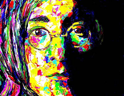 Obriens Painting - John Lennon by Mike OBrien