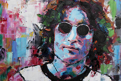 Starr Painting - John Lennon by Richard Day