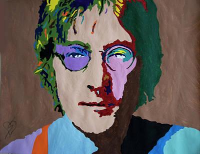 Painting - John Lennon by Stormm Bradshaw