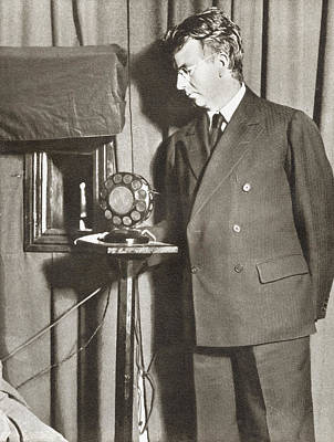 John Logie Baird, 1888 - 1946. Scottish Art Print