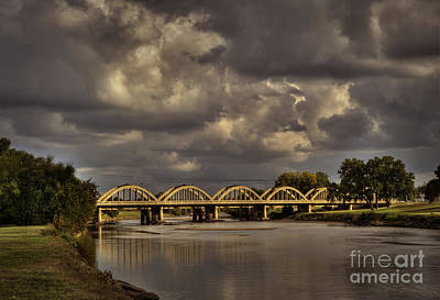 Photograph - John Mack Bridge by Fred Lassmann