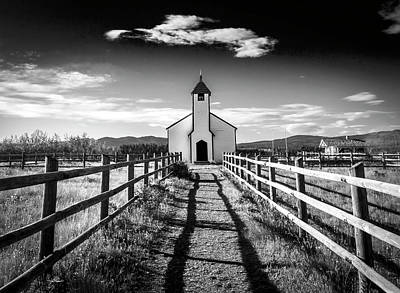 Photograph - John Mcdougall's Church 002 by Phil Rispin