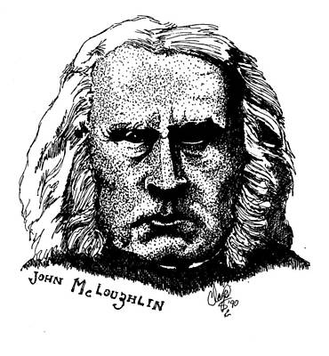 Drawing - John Mcloughlin by Clayton Cannaday