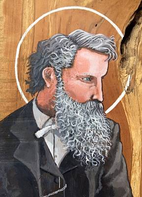 Painting - John Muir by Kelly Latimore