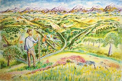Painting - John Muir's Walk To Yosemite by Jim Taylor