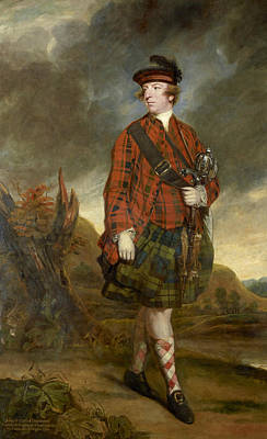 Painting - John Murray 4th Earl Of Dunmore by Joshua Reynolds