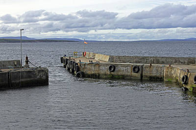 Photograph - John O'groats Harbour by Tony Murtagh