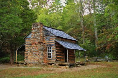 Photograph - John Oliver's Cabin by Carol Montoya
