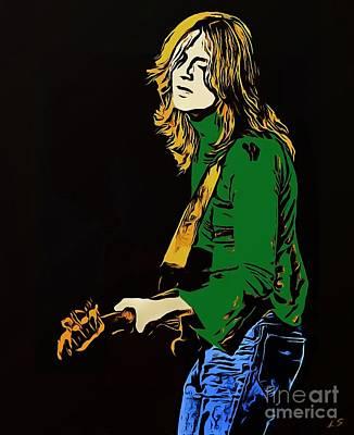 Led Zeppelin Drawing - John Paul Jones - Collection 1 by Sergey Lukashin