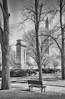 Photograph - John Paul Jones Washington Monument by David Zanzinger