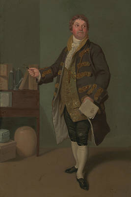 Painting - John Quick As Tony Allspice by Samuel de Wilde