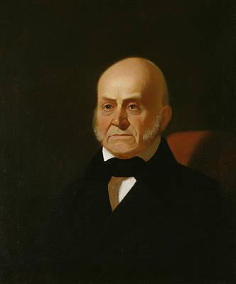 Quincy Painting - John Quincy Adams by George Caleb Bingham