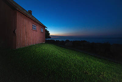 Lake Erie Photograph - John R. Park Homestead - Sunrise by Cale Best