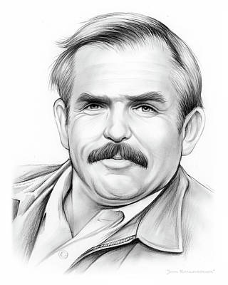 Drawings Rights Managed Images - John Ratzenberger Royalty-Free Image by Greg Joens