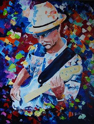Painting - John Rice by Valerie Curtiss