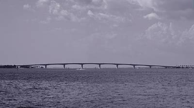 Photograph - John Ringling Causeway Bridge - Sarasota Florida by rd Erickson
