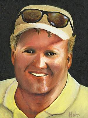 Painting - John by Scott Hoke