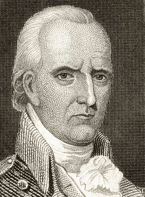 Continental Army Drawing - John Stark, 1728 To 1822. American by Vintage Design Pics