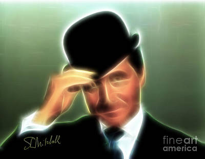 Digital Art - John Steed by Stephen Mitchell