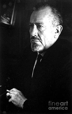 Photograph - John Steinbeck by Reproduction