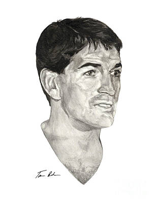 Utah Jazz Painting - John Stockton by Tamir Barkan