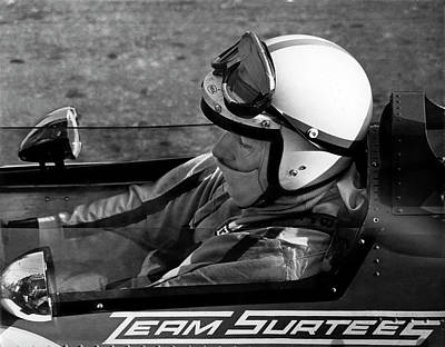 Photograph - John Surtees 2 by Mike Flynn