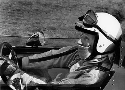 Photograph - John Surtees 1 by Mike Flynn