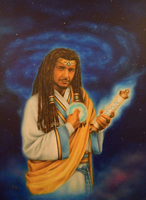 Black History Painting - John The Baptist The Black Prophet by Ace Knight